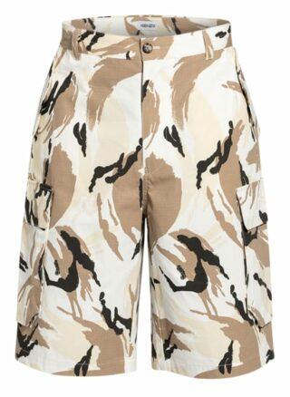 Kenzo Cargo-Shorts beige