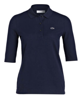 Lacoste Piqué-Poloshirt Mit 3/4-Arm blau