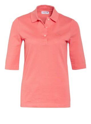 Lacoste Piqué-Poloshirt Mit 3/4-Arm rot