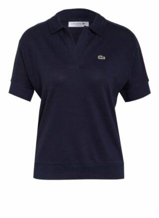 Lacoste Piqué-Poloshirt Damen, Blau