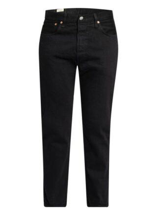 Levis 501 Straight Straight Leg Jeans Herren, Schwarz
