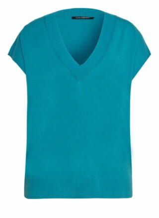 LUISA CERANO Strickshirt Damen, Blau