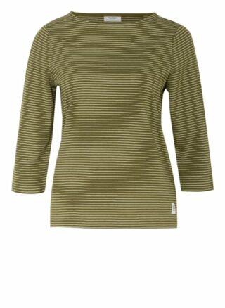 Marc O'polo Denim Shirt Mit 3/4-Arm gruen