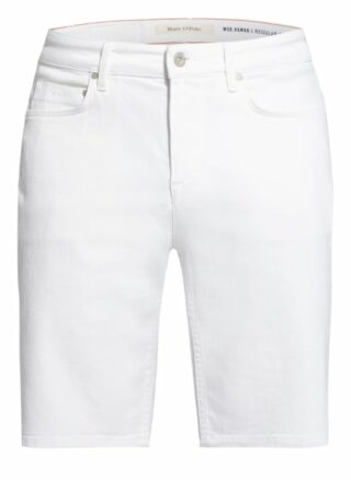 Marc O'Polo Hamar Jeans-Shorts Herren, Weiß