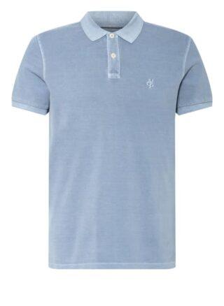 Marc O'Polo Pique-Poloshirt Herren, Blau
