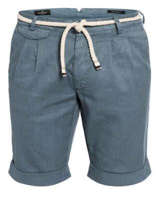Mason's Shorts Amalfi Mit Leinen blau