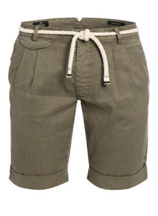 Mason's Shorts Amalfi Mit Leinen gruen