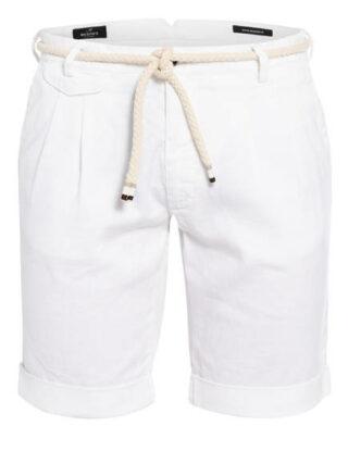 Mason's Shorts Amalfi Mit Leinen weiss