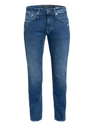 mavi James Skinny Jeans Herren, Blau