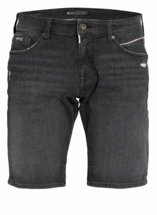 mavi Tim Jeans-Shorts Herren, Grau