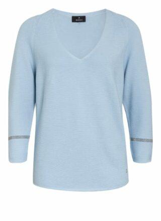 Monari Pullover Mit 3/4-Arm blau