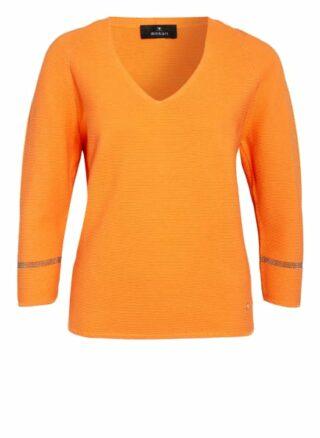 Monari Pullover Mit 3/4-Arm orange