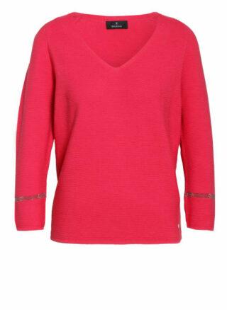 Monari Pullover Mit 3/4-Arm pink