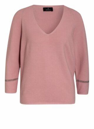 Monari Pullover Mit 3/4-Arm rosa
