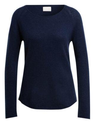 Mrs & HUGS Cashmere-Pullover Damen, Blau