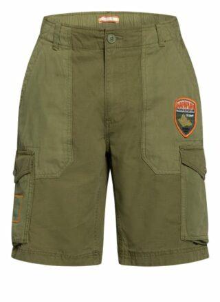 Napapijri Nelli Cargo-Shorts Herren, Grün