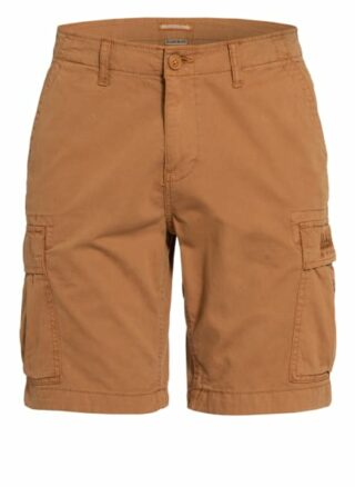 Napapijri Nostran Cargo-Shorts Herren, Braun