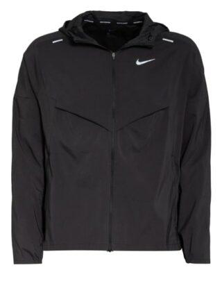 Nike Laufjacke Windrunner schwarz