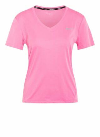 Nike Laufshirt Miler pink