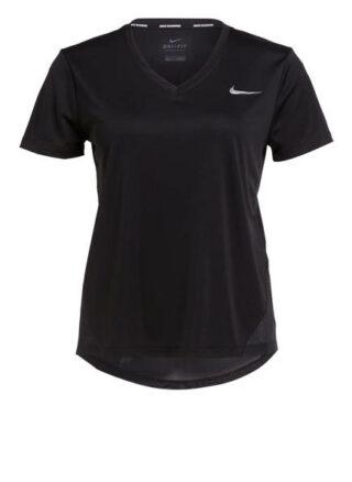 Nike Laufshirt Miler schwarz