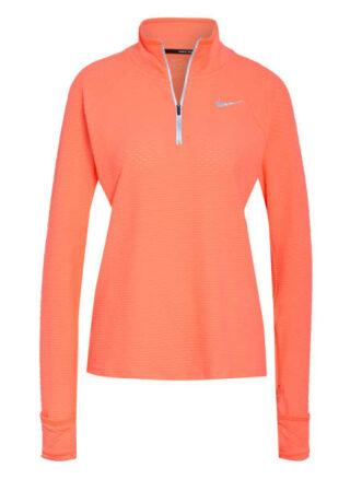Nike Laufshirt Sphere orange