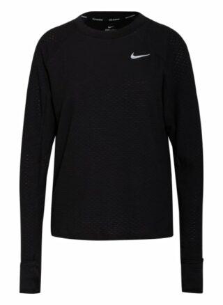 Nike Laufshirt Sphere schwarz