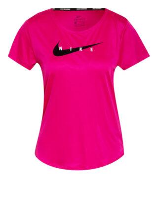 Nike Laufshirt Swoosh Run pink