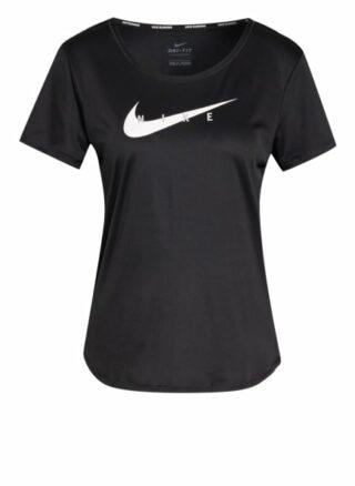Nike Laufshirt Swoosh Run schwarz
