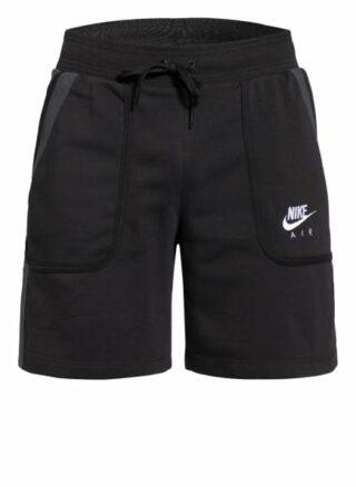Nike Air Sweatshorts Herren, Schwarz