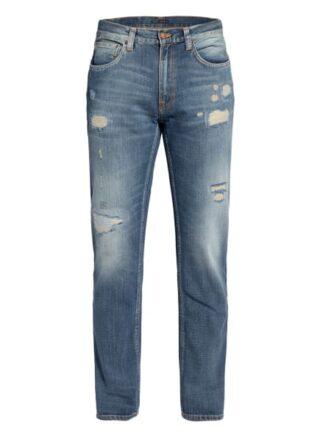 Nudie Jeans Jeans Gritty Jackson Straight Leg Jeans Herren, Blau