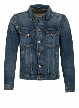 Nudie Jeans Jeansjacke Bobby blau