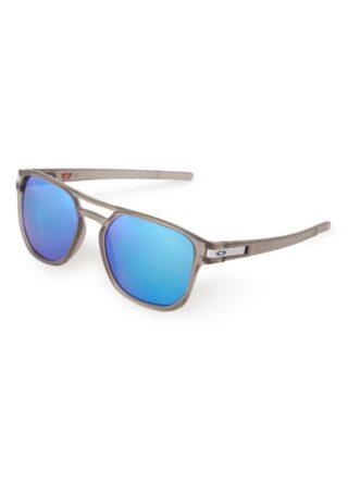 Oakley Beta OO9436 polarisierte Sonnenbrille Herren, Grau