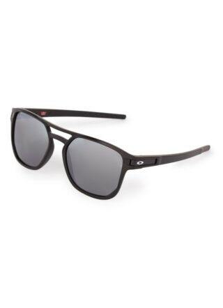 Oakley Beta OO9436 polarisierte Sonnenbrille Herren, Schwarz