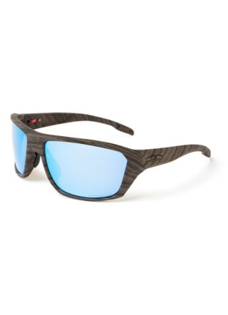 Oakley Split Shot OO9416 polarisierte Sonnenbrille Herren, Braun