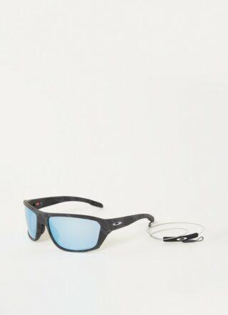 Oakley Split Shot Prizm Deep H2O OO9416 polarisierte Sonnenbrille Herren, Grau
