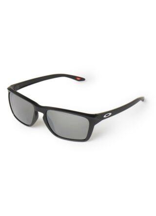 Oakley Sylas  OO9448 polarisierte Sonnenbrille Herren, Schwarz