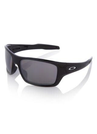 Oakley Turbine OO9263 polarisierte Sonnenbrille Herren, Schwarz