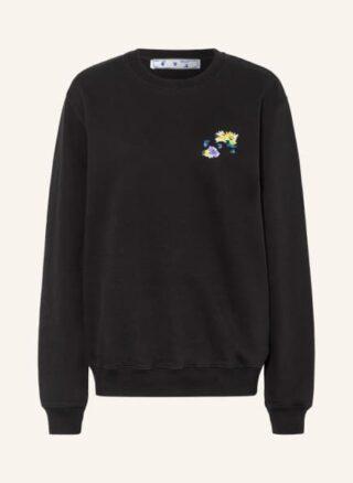 Off-White Sweatshirt schwarz