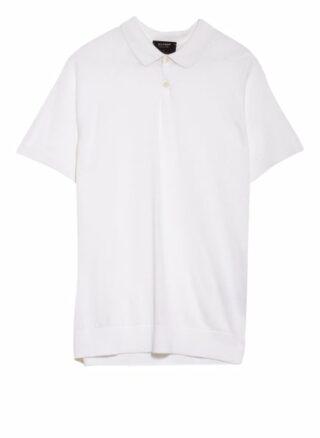 OLYMP SIGNATURE Strick-Poloshirt Herren, Weiß
