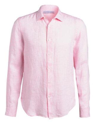 ORLEBAR BROWN Giles Leinenhemd Herren, Pink