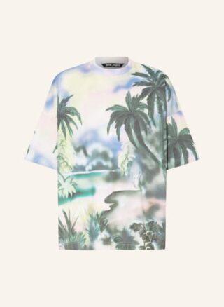Palm Angels Oversized-Shirt gruen
