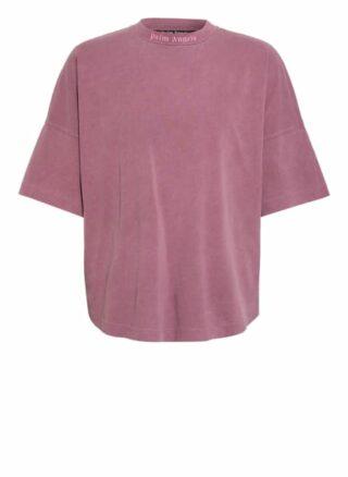 Palm Angels Oversized-Shirt rosa