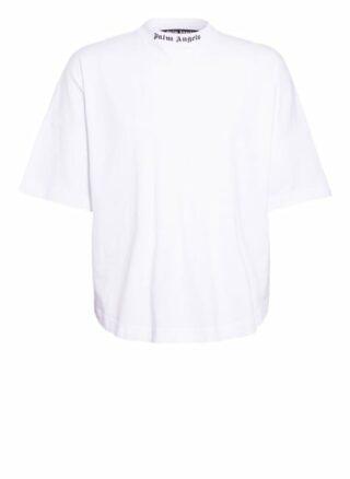 Palm Angels Oversized-Shirt weiss