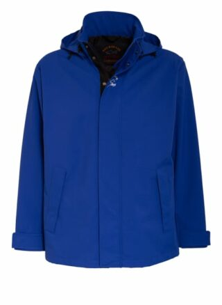 Paul & Shark Jacke Mit Abnehmbarer Kapuze blau