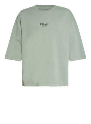Preach Oversized-Shirt gruen
