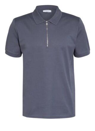 REISS Pique-Poloshirt Herren, Blau