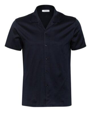 REISS Caspa Resorthemd Herren, Blau