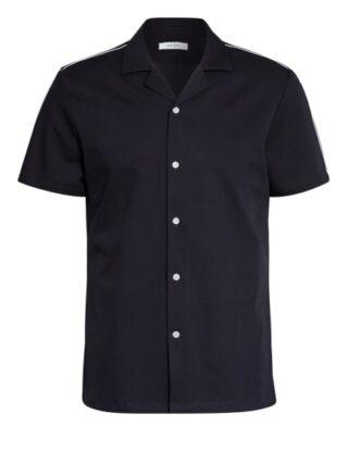 REISS Fang Resorthemd Herren, Blau
