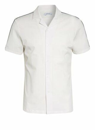 REISS Fang Resorthemd Herren, Weiß