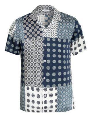 REISS Jamie Resorthemd Herren, Blau